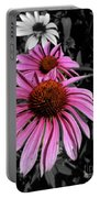 Pink Cutout Portable Battery Charger