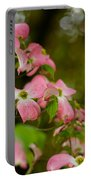 Pink Dogwood Blooms Portable Battery Charger