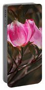 Pink Flower Tree Blossoms No. 247 Portable Battery Charger