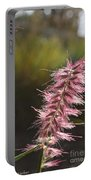 Pink Fuzzy Portable Battery Charger