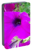 Pink Petals Portable Battery Charger