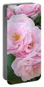 Pink Roses II Portable Battery Charger
