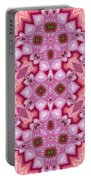 Pink Splash Mandala Abstract Portable Battery Charger