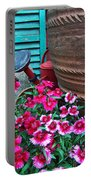 Pinks The Garden Beauty - Dianthus Portable Battery Charger
