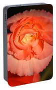 Pinky Orange Tuberous Begonias Portable Battery Charger
