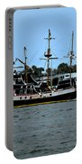 Pirate Ship Of The Matanzas Portable Battery Charger