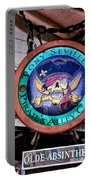 Pirates Alley Cafe Portable Battery Charger by Bill Cannon