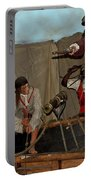Pirates Of Peril Portable Battery Charger by DigiArt Diaries by Vicky B Fuller