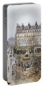 Pissarro: Theatre Francais Portable Battery Charger