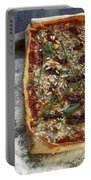 Pizza With Herbs Portable Battery Charger