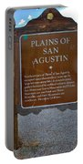 Plains Of San Agustin Portable Battery Charger