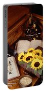 Plants And Seeds Portable Battery Charger
