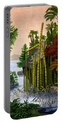 Plants Of The Triassic Period Portable Battery Charger