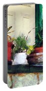 Plants On Porch Portable Battery Charger
