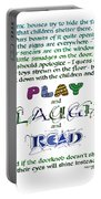 Play Laugh Read Portable Battery Charger