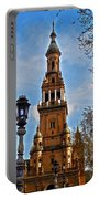 Plaza De Espana - Sevilla Portable Battery Charger