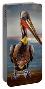 Plump Peter Pelican's Pier Photo Pose Portable Battery Charger