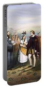 Pocahontas & John Rolfe Portable Battery Charger