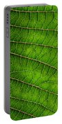 Poinsettia Leaf IIi Portable Battery Charger