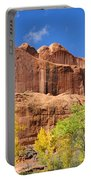 Poison Spider Mesa In The Fall Portable Battery Charger by Gary Whitton