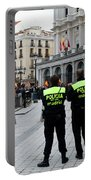Policia Madrid Portable Battery Charger
