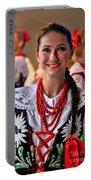 Polish Folk Dancing Girl Portable Battery Charger