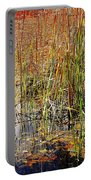 Pond And Rushes Portable Battery Charger