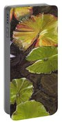 Pond Flower Portable Battery Charger