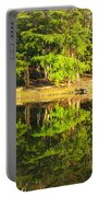 Pond Reflection Guatemala Portable Battery Charger