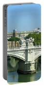 Ponte Sant'angelo In Rome Portable Battery Charger