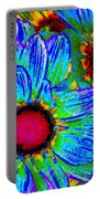 Pop Art Daisies 2 Portable Battery Charger