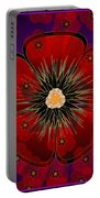 Poppies 2012 Portable Battery Charger