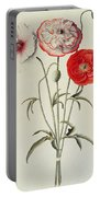 Poppies Corn Portable Battery Charger