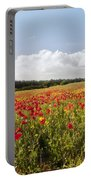 Poppy Field II Portable Battery Charger
