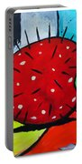 Porcupine Strawberry Portable Battery Charger