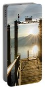 Port On In Sunset Portable Battery Charger