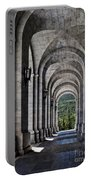 Portico From The Valley Of The Fallen Portable Battery Charger by Mary Machare