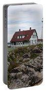 Portland Head Light Cape Elizabeth Fort Williams Maine Portable Battery Charger