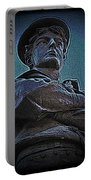 Portrait 33 American Civil War Portable Battery Charger by David Dehner