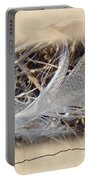 Portrait Of A Feather Portable Battery Charger