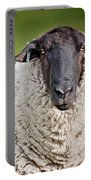Portrait Of A Sheep Portable Battery Charger