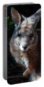 Portrait Of A Wallaby Portable Battery Charger