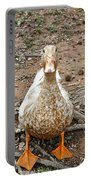Portrait Of An Alabama Duck Portable Battery Charger