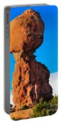 Portrait Of Balance Rock Portable Battery Charger