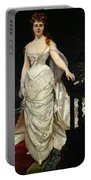 Portrait Of Mademoiselle X Portable Battery Charger