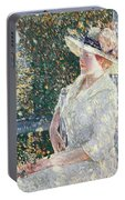 Portrait Of Miss Weir Portable Battery Charger