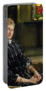 Portrait Of Mrs Ralph Sneyd Portable Battery Charger