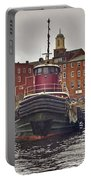 Portsmouth Tugs Portable Battery Charger by Joann Vitali