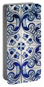 Portuguese Azulejo Portable Battery Charger