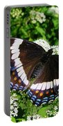 Posing Butterfly Portable Battery Charger